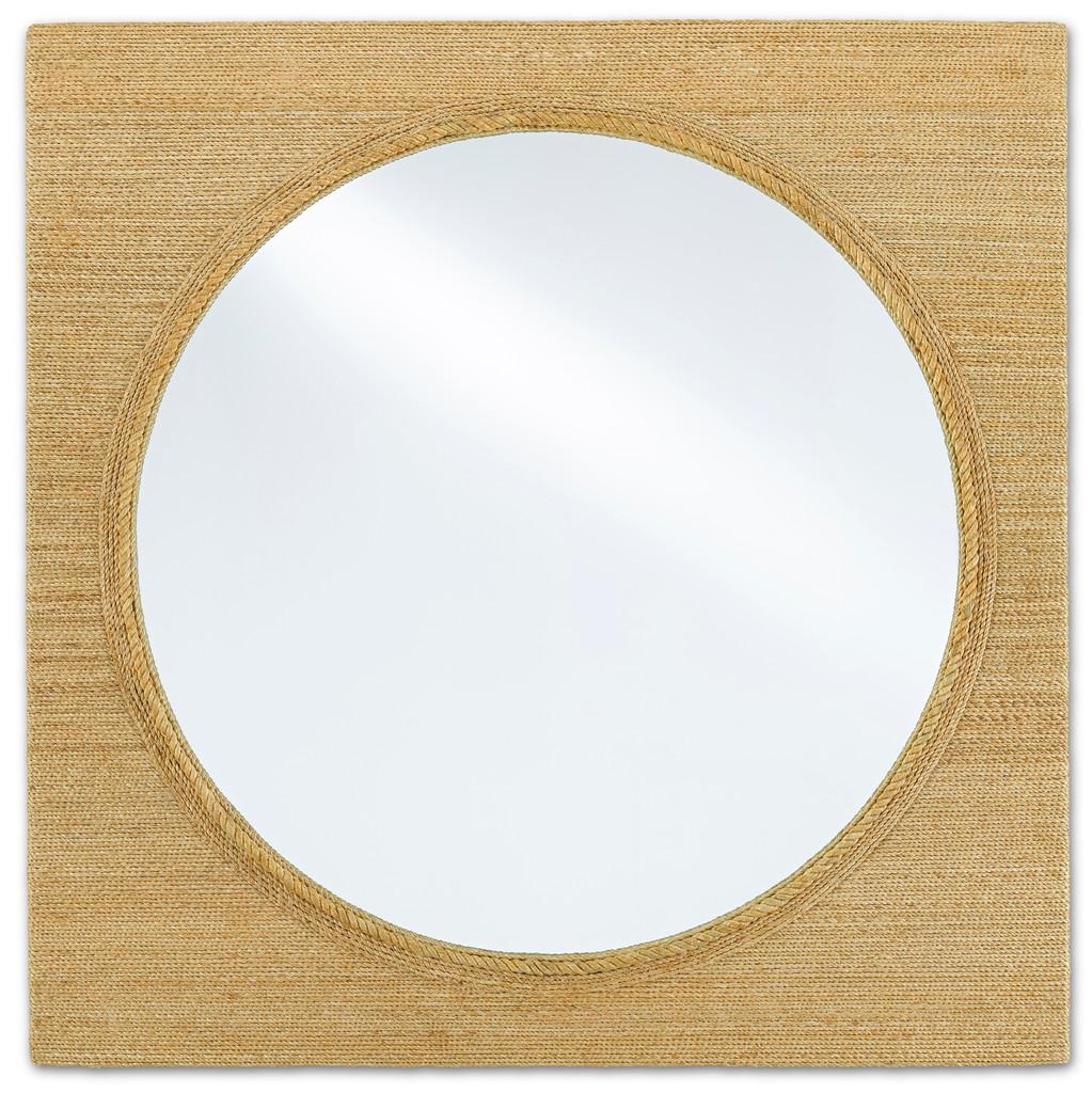 Large Tisbury Rope Porthole Mirror
