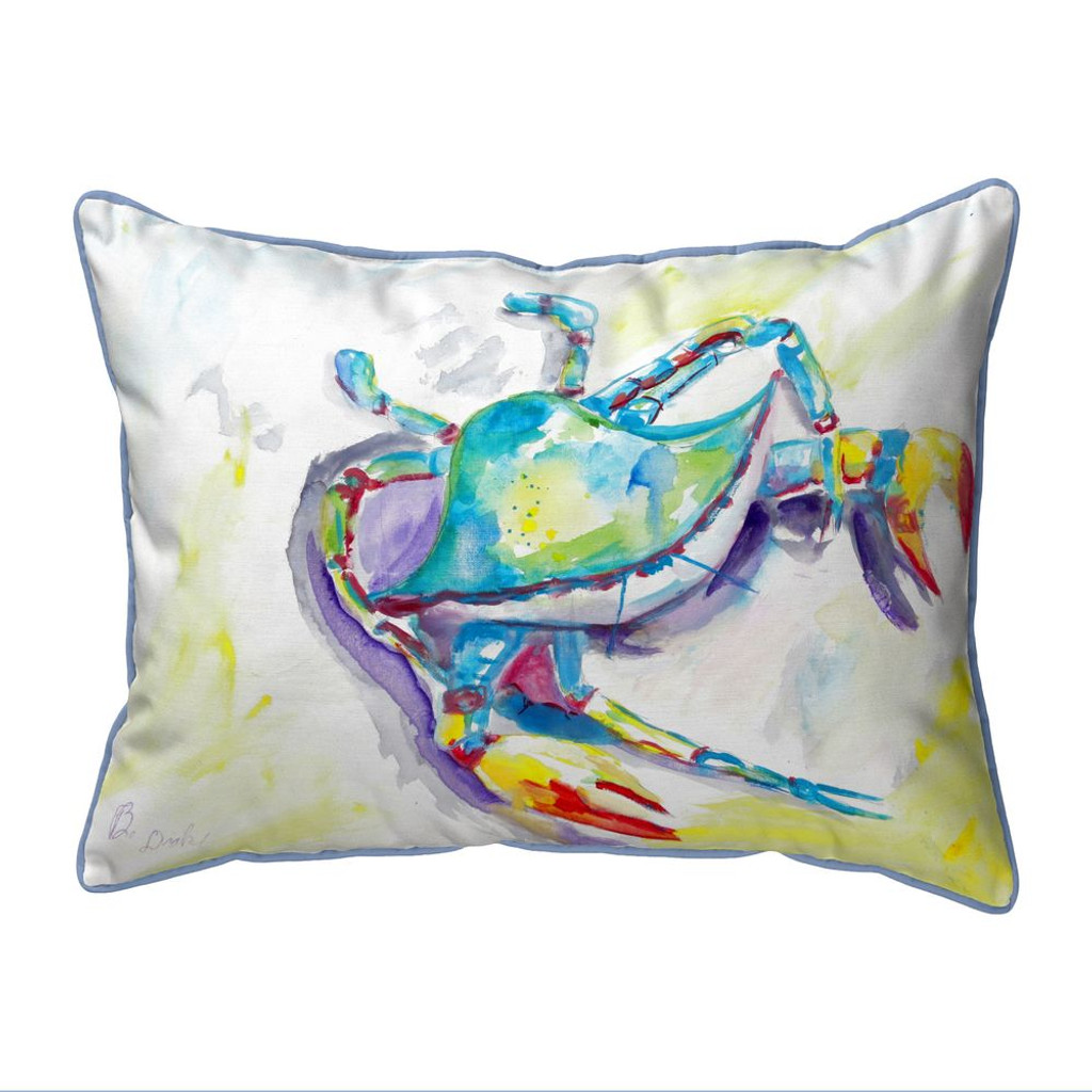 Facing the Waves Large Indoor-Outdoor Pillow 16x20