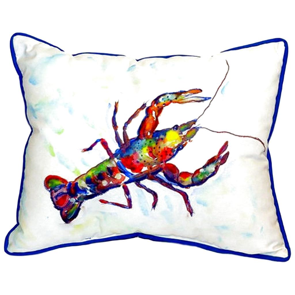 Crayfish Large Indoor/Outdoor Pillow 16x20