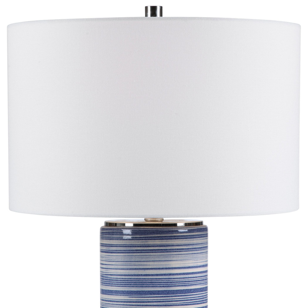 Montauk Sea Striped Table Lamp view 3