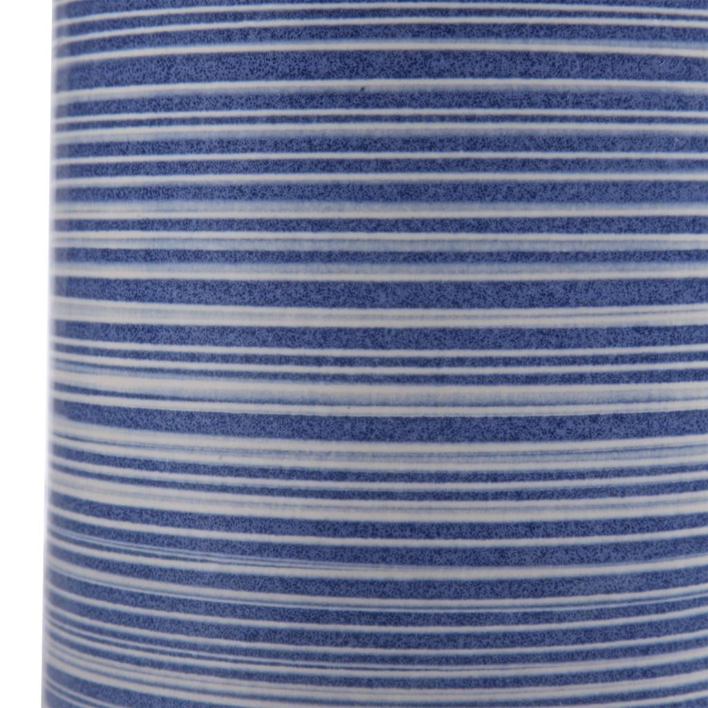 Montauk Sea Striped Table Lamp close up