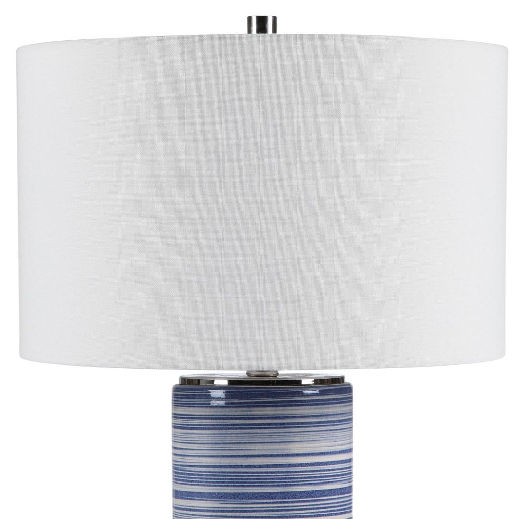 Montauk Sea Striped Table Lamp view 2