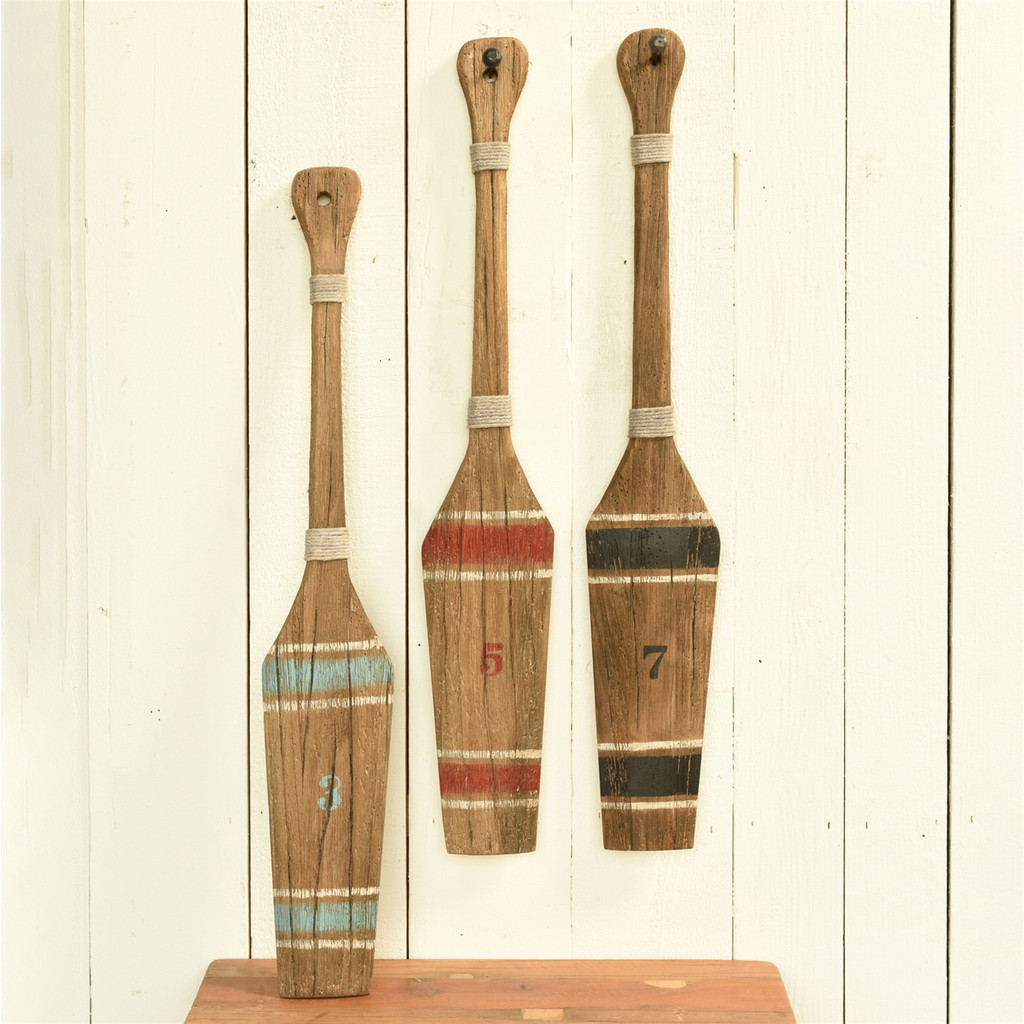 Painted paddle group image