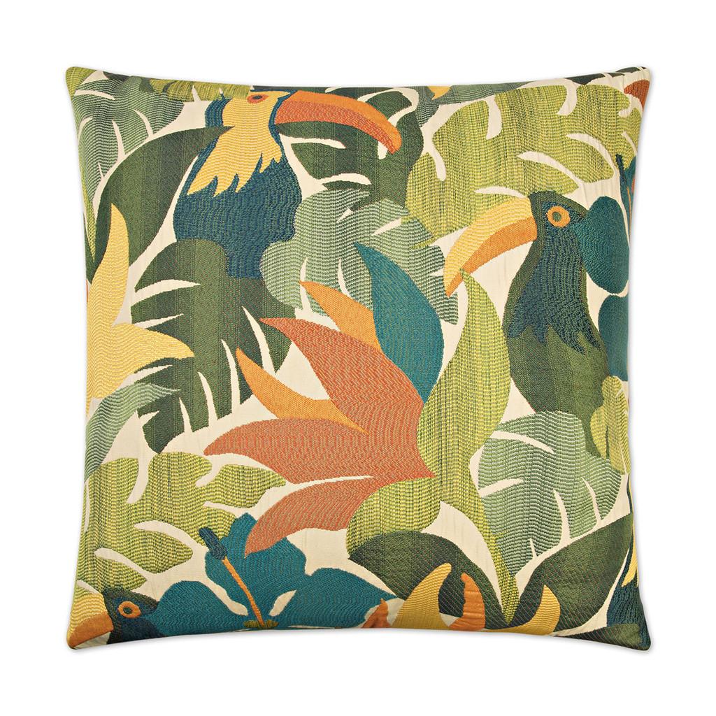 Parrots of the Caribbean 24 x 24 Pillow