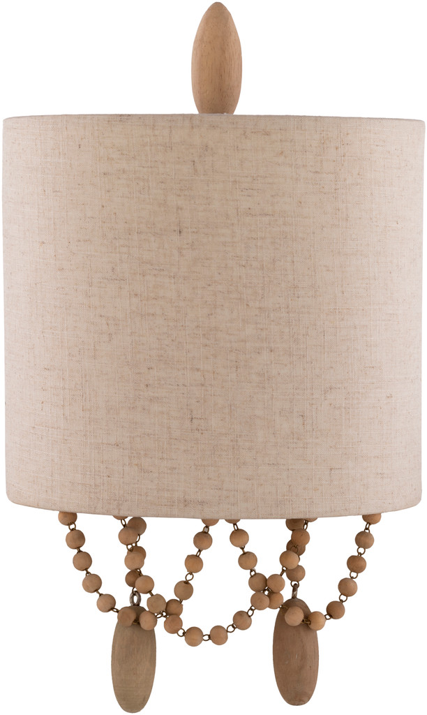 Emerlyn Beaded Wall Sconce light off