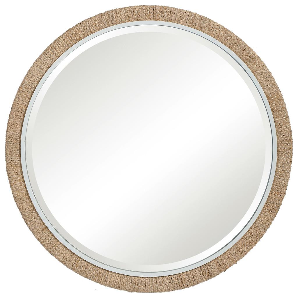 Robinson Crusoe Round Rope Mirror