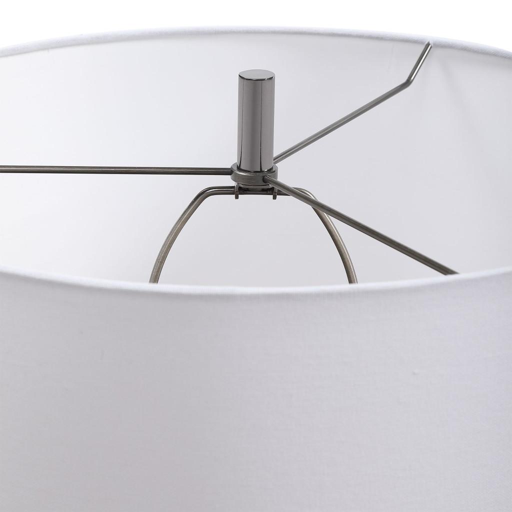 Everett Blue Glaze Table Lamp shade