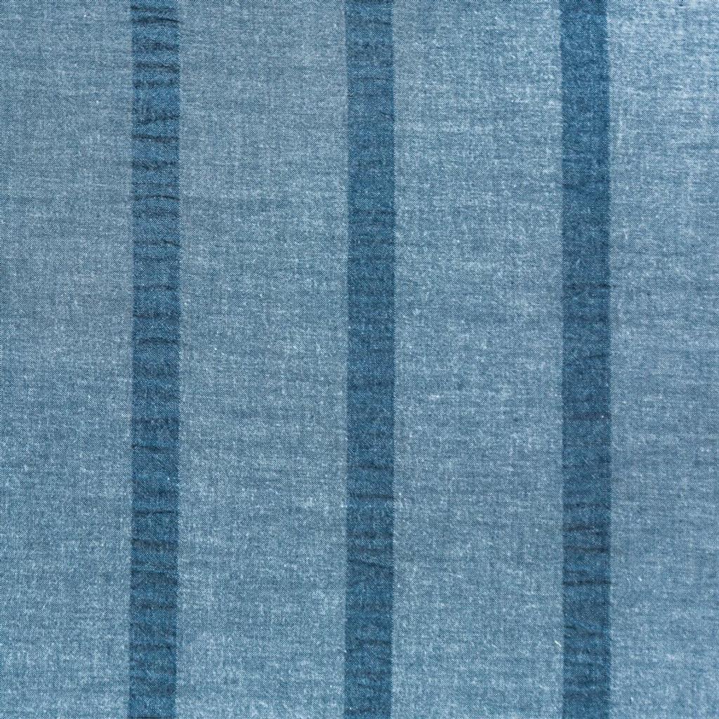Harper Stripe 3-Piece King Size Duvet Set fabric close up