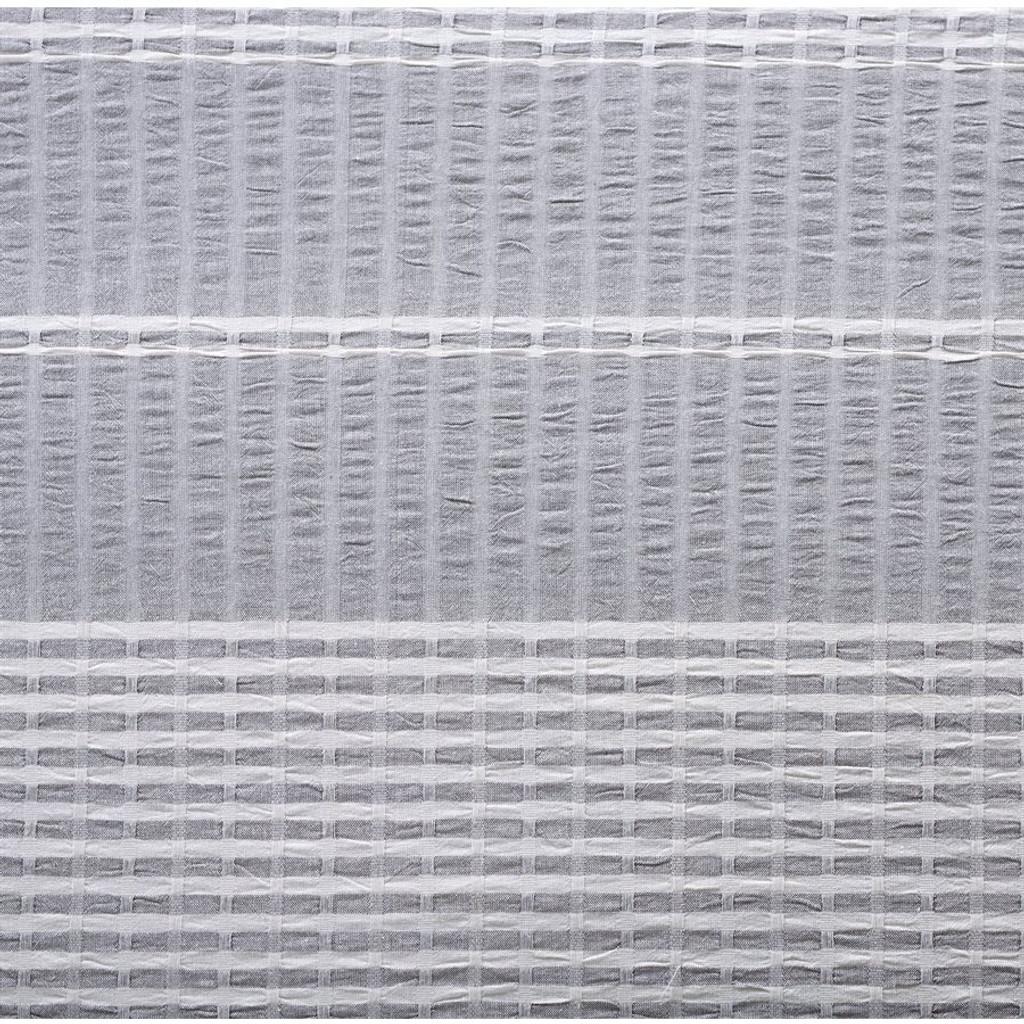 Waterfront Lane 3-Piece Stripe King Size Duvet Set close up fabric