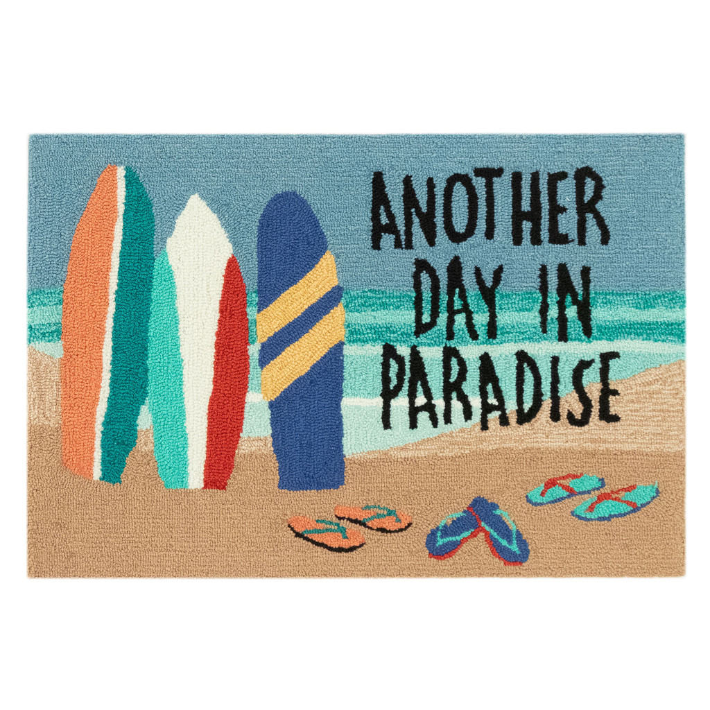 Another Day in Paradise Accent Rug