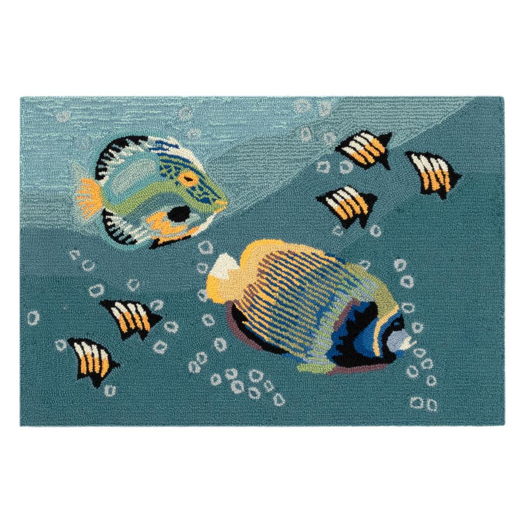 Tropical Aquarium Accent Rug