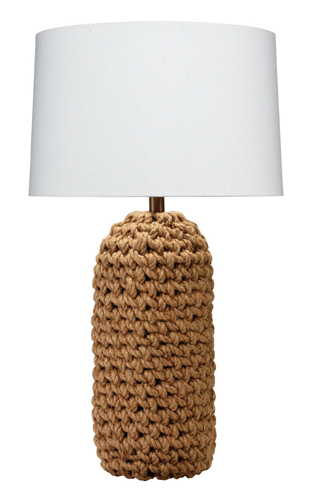 Come Ashore Roped Table Lamp