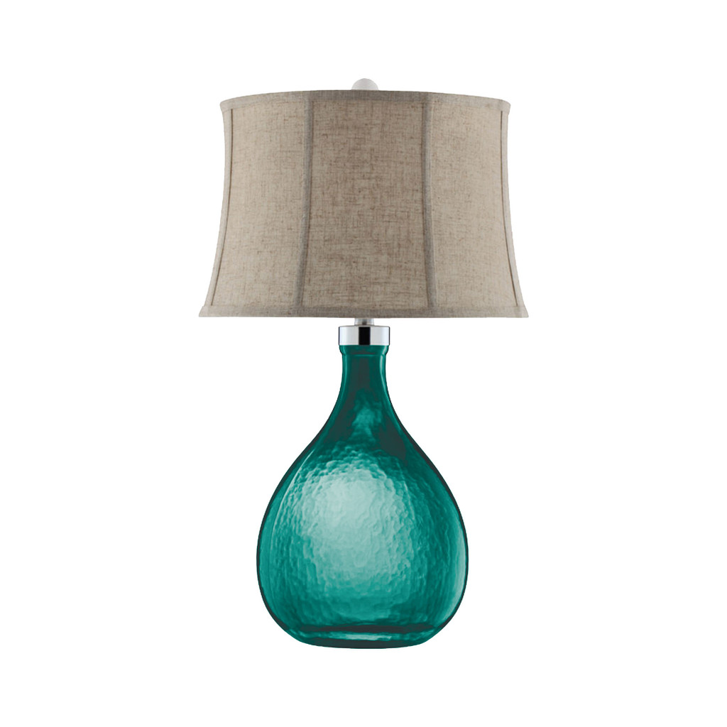 Cardiff by the Sea Glass Table Lamp