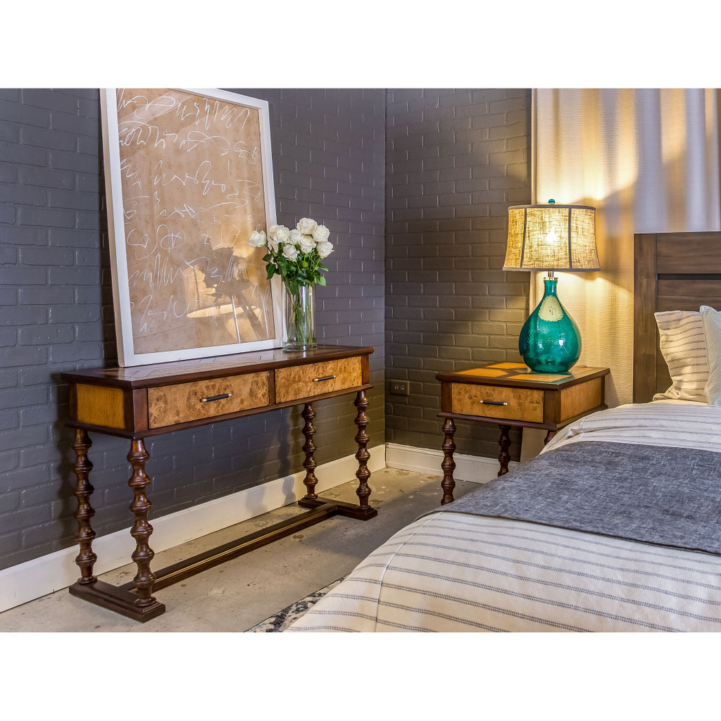 Cardiff by the Sea Glass Table Lamp room view
