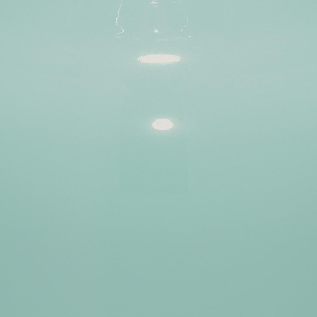 Plum Aqua Jar Table Lamp