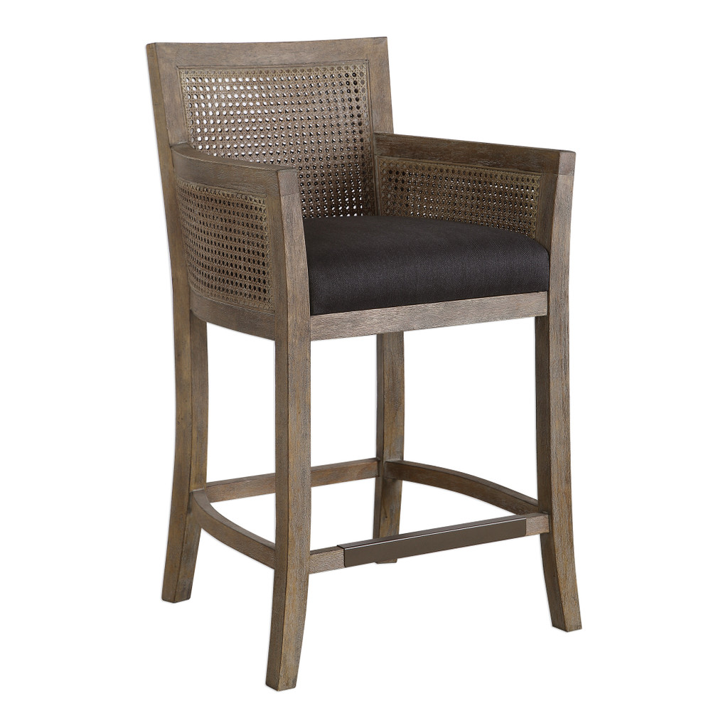 Encore Counter Stool in Grey