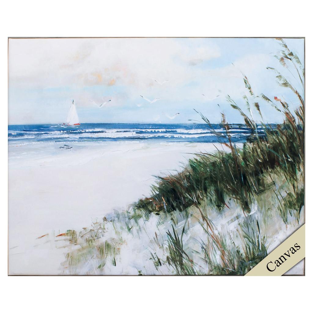 Oak Island Sunrise Canvas Art