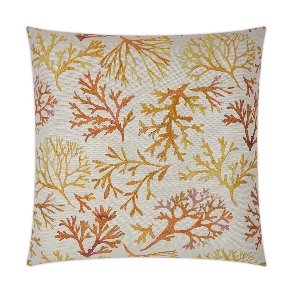 Gold Coast Coral Luxury Pillow