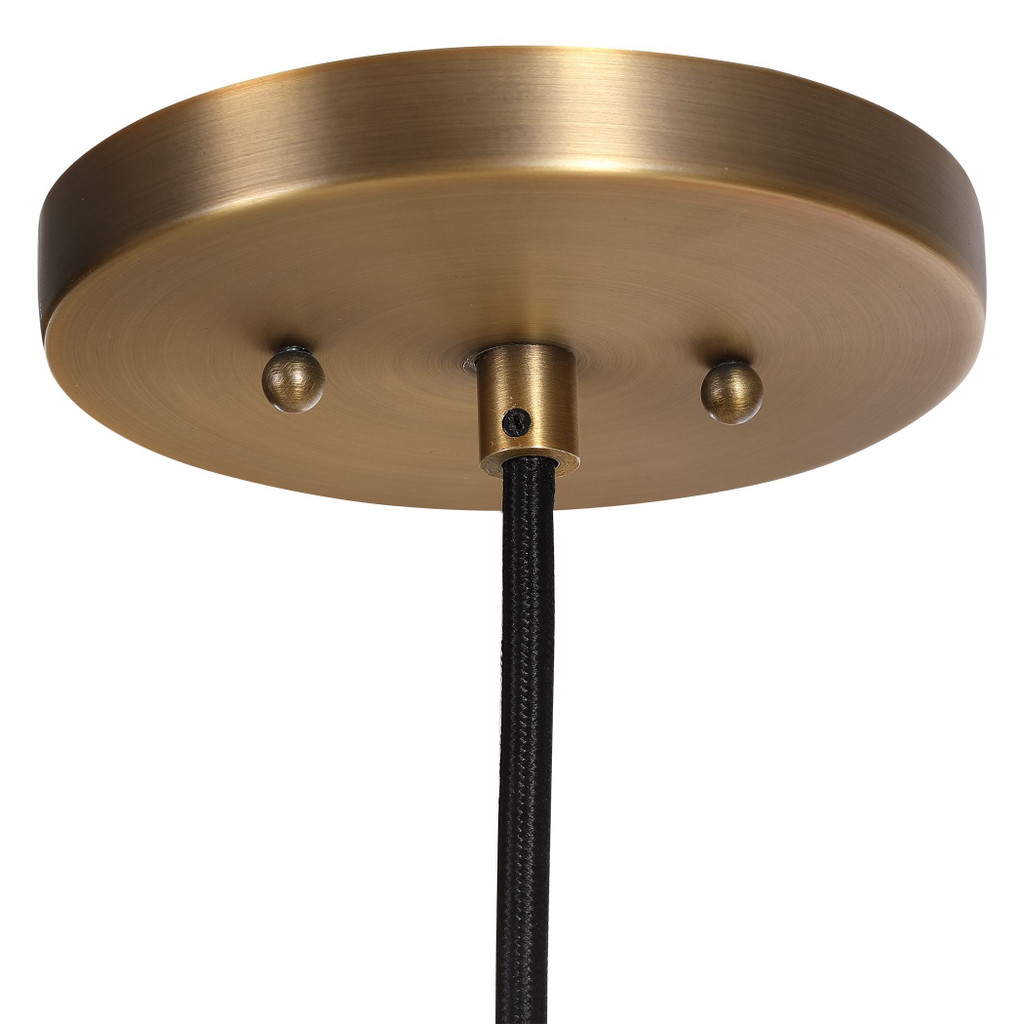 Seagrass Woven 1-Light Dome Pendant ceiling cap