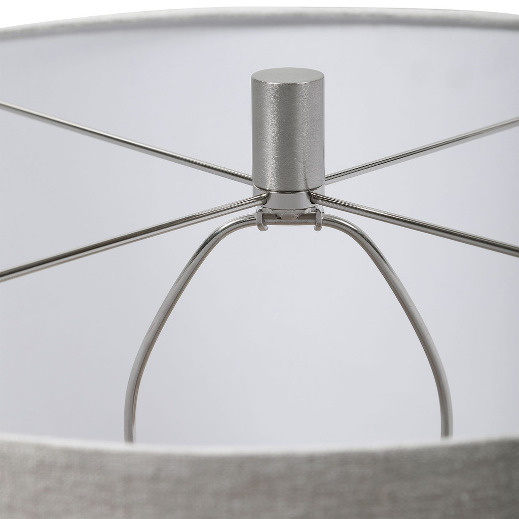 Magellan Ivory Table Lamp shade detail