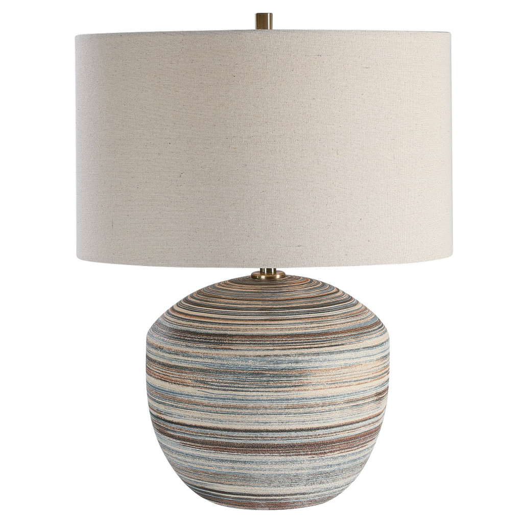 Seaside Striped Accent Lamp