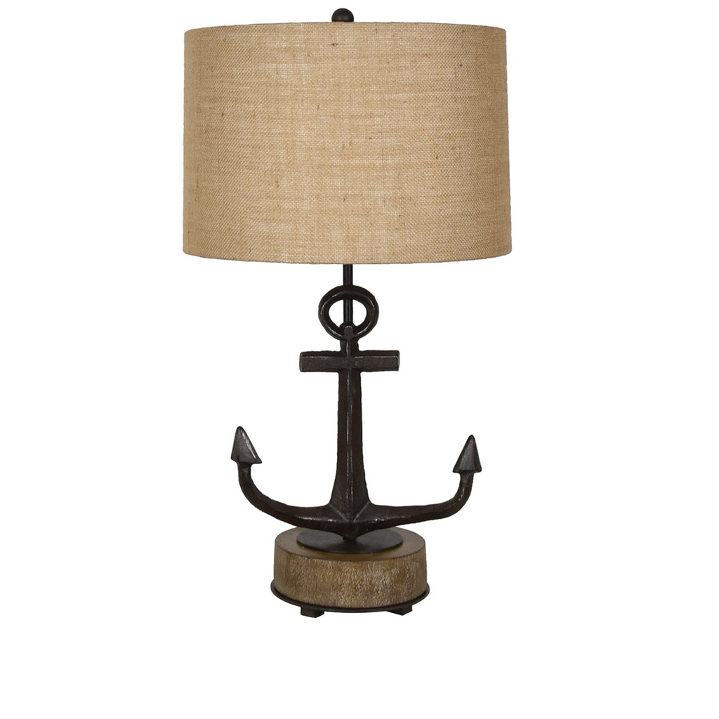 Tied Up Anchor Lamp