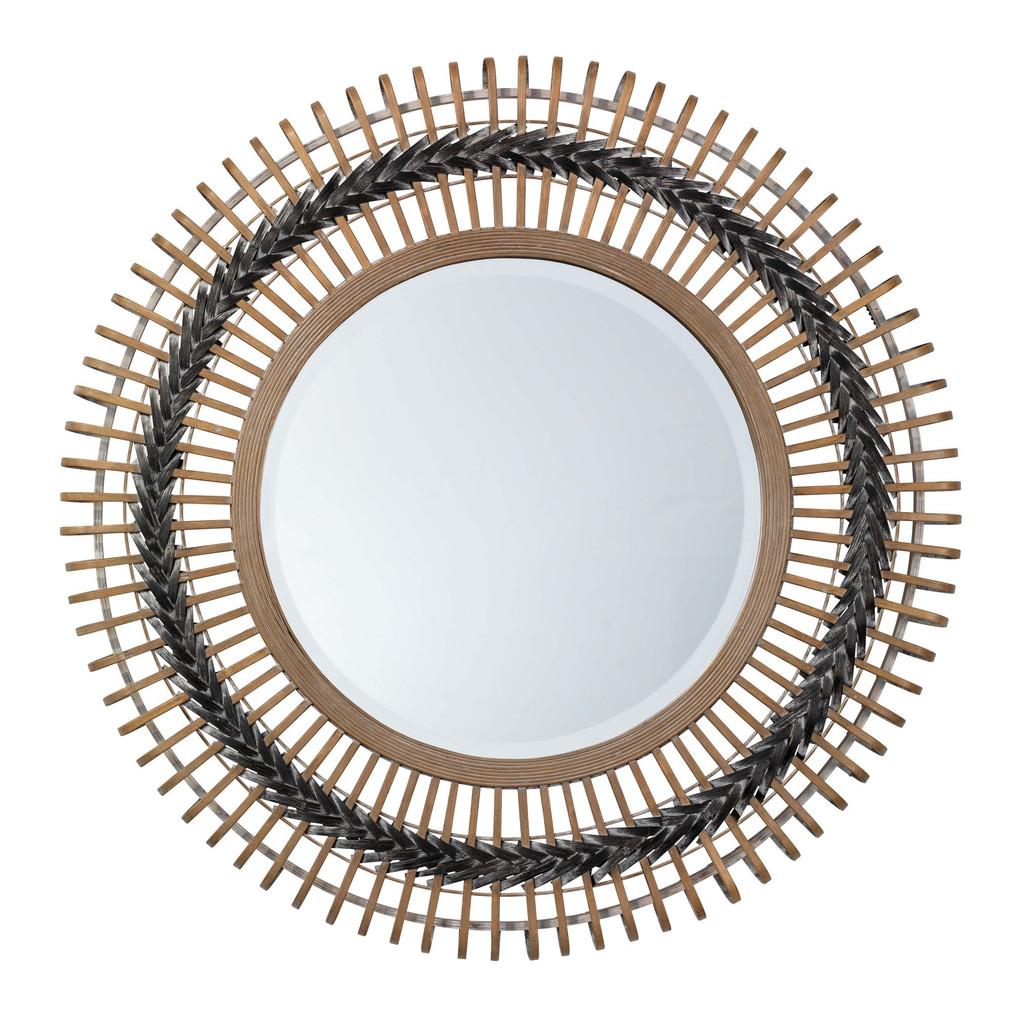 Bamboo Grove Braided Mirror