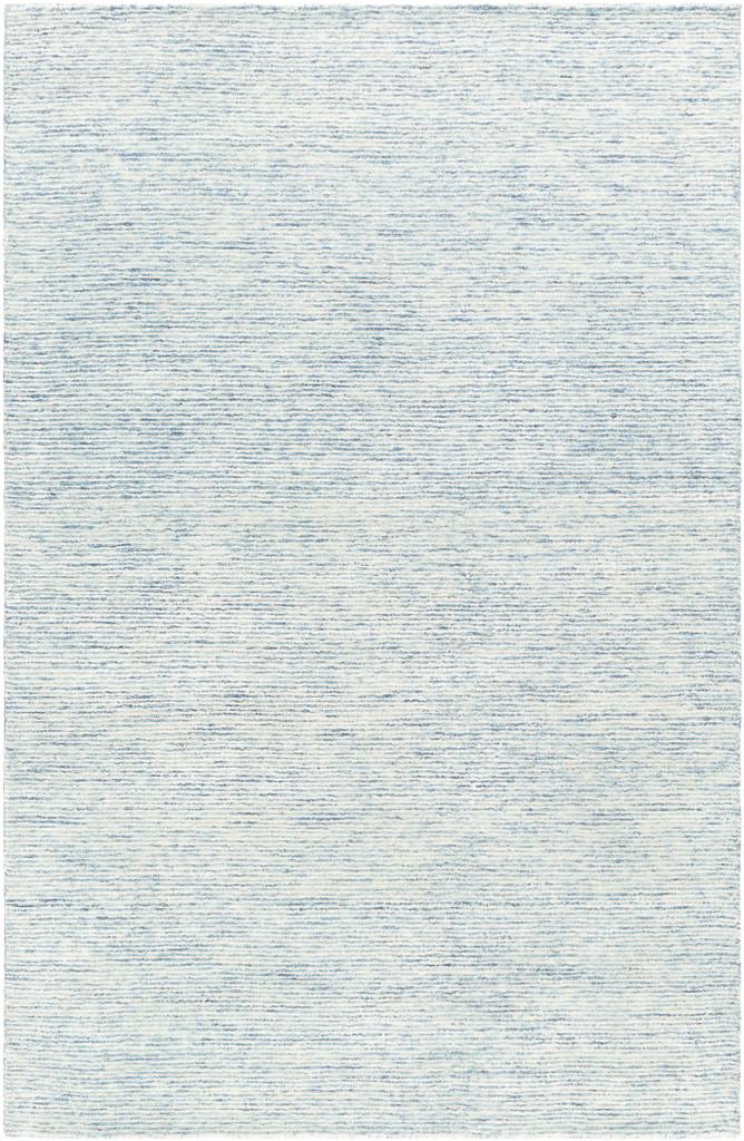 Pale Denim Strada Wool and Viscose Rug