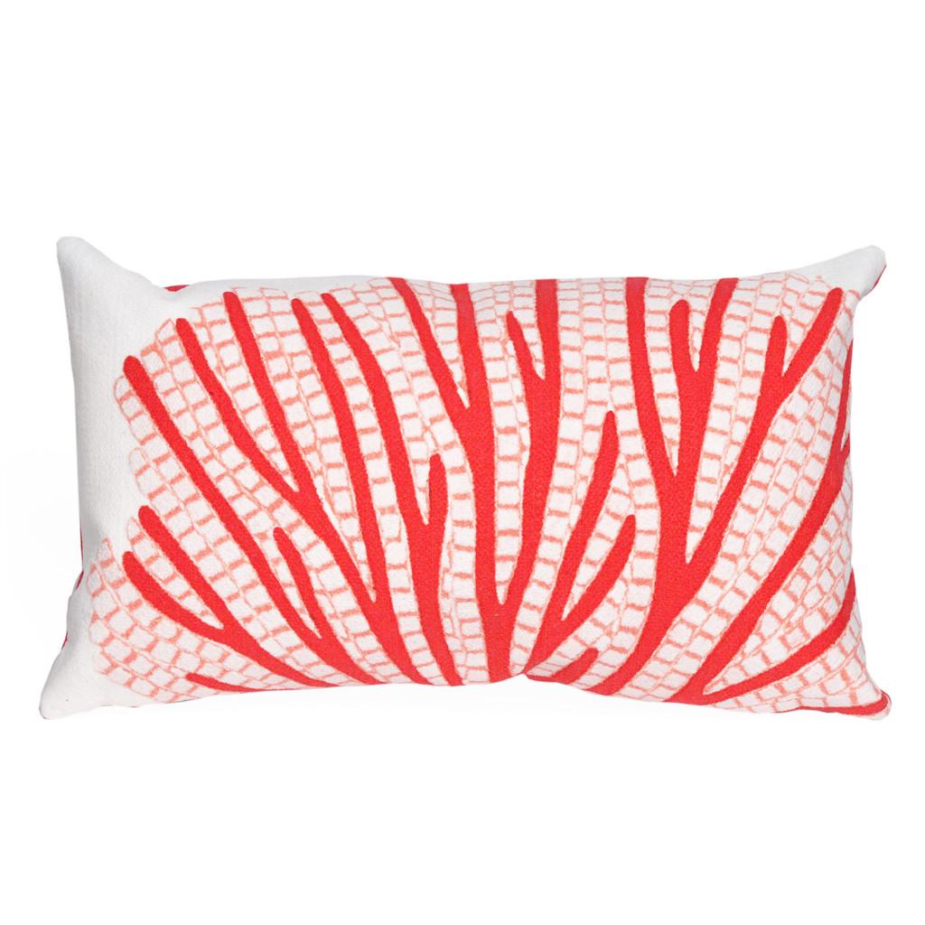 Red Sea Fan Indoor-Outdoor 12 x 20 Pillow