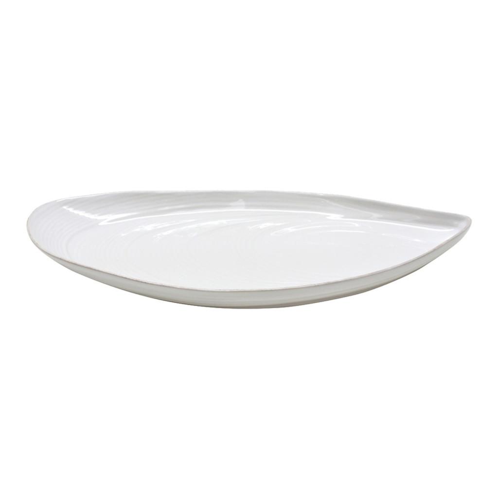 MRA451-02203B Large Mussel Shell Shaped Aparte Dish