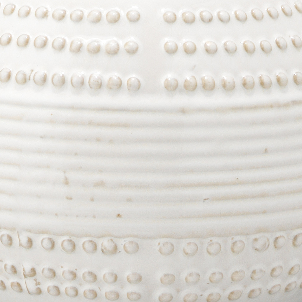 White Water Droplet Table Lamp close up