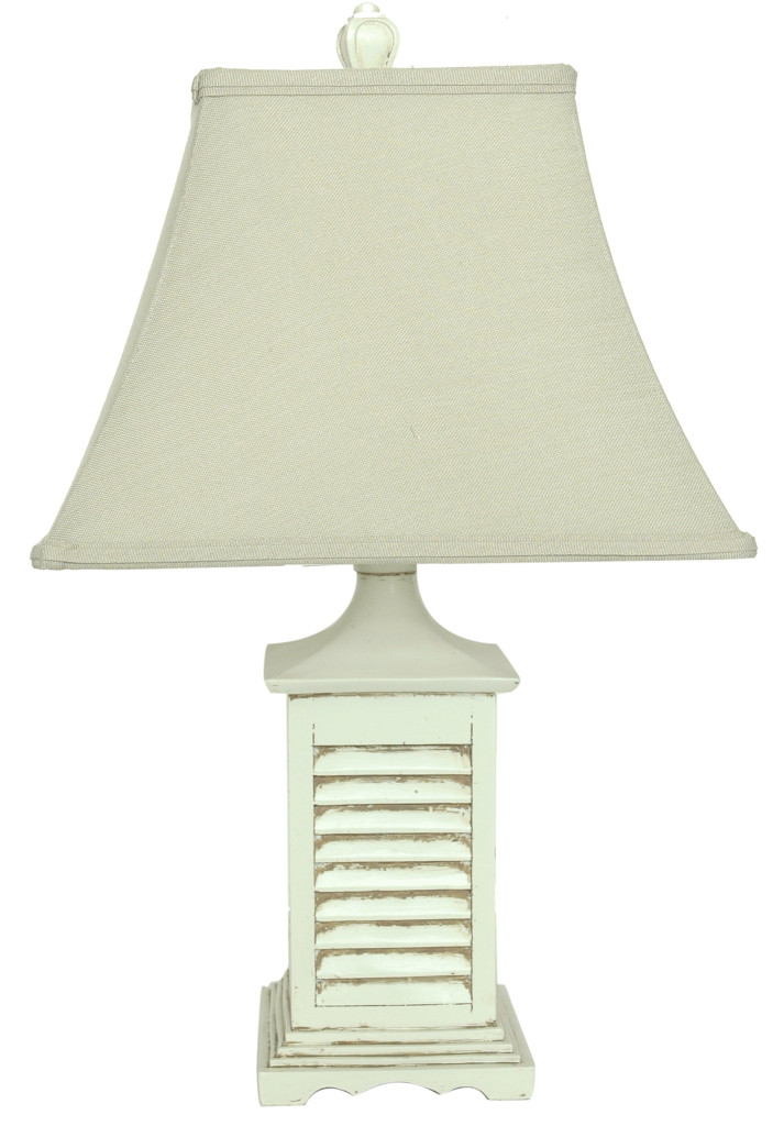 Distressed Shutter Accent Lamp
