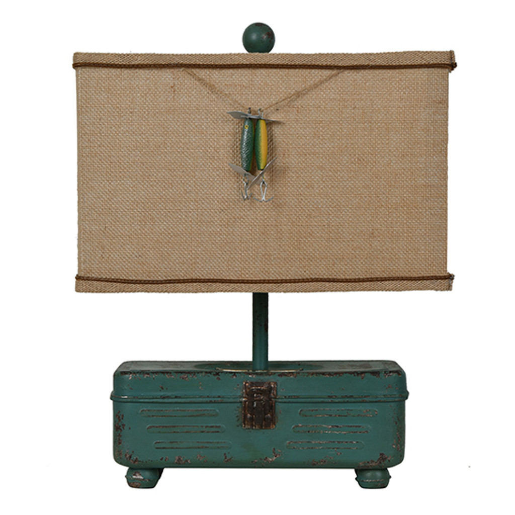 Tackle Box Table Lamp