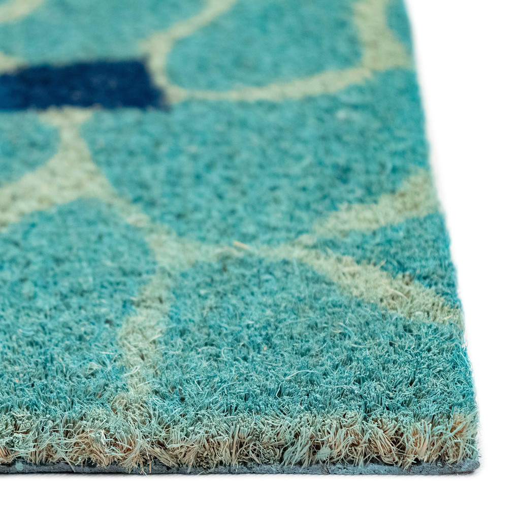 This Way to the Pool Natural Coir Mat - 24 x 36 pile image