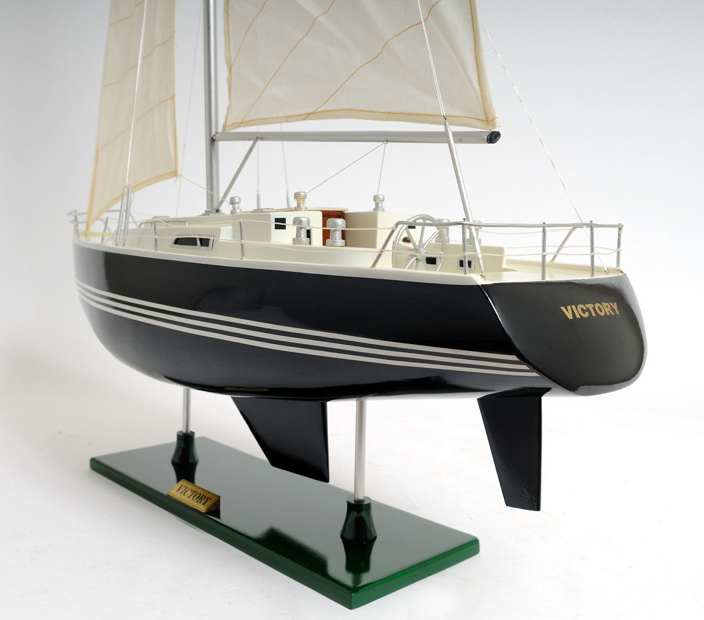 The Victory Sailing Yacht Model view 2