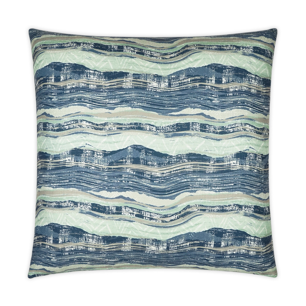 Ocean Highway Elegant Pillow