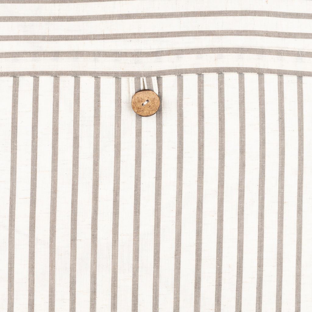 Penzance Resort Striped 20 x 20 Pillow buttom close up