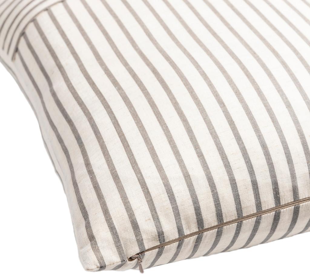Penzance Resort Striped Pillow corner