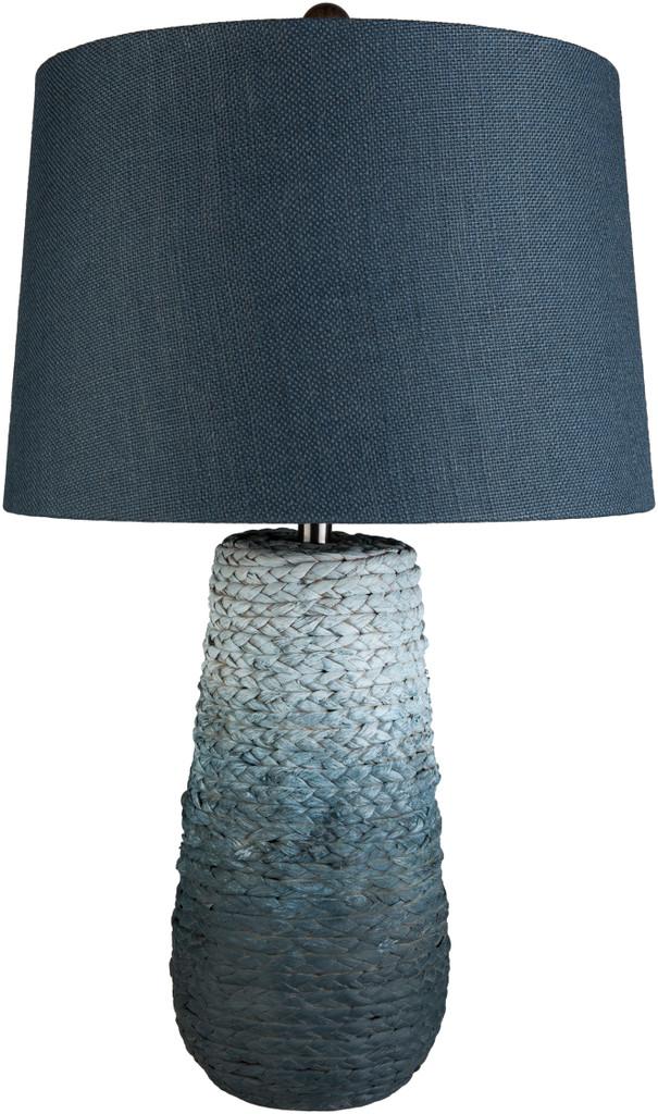 Amalfi Blue Jute Wrapped Table Lamp