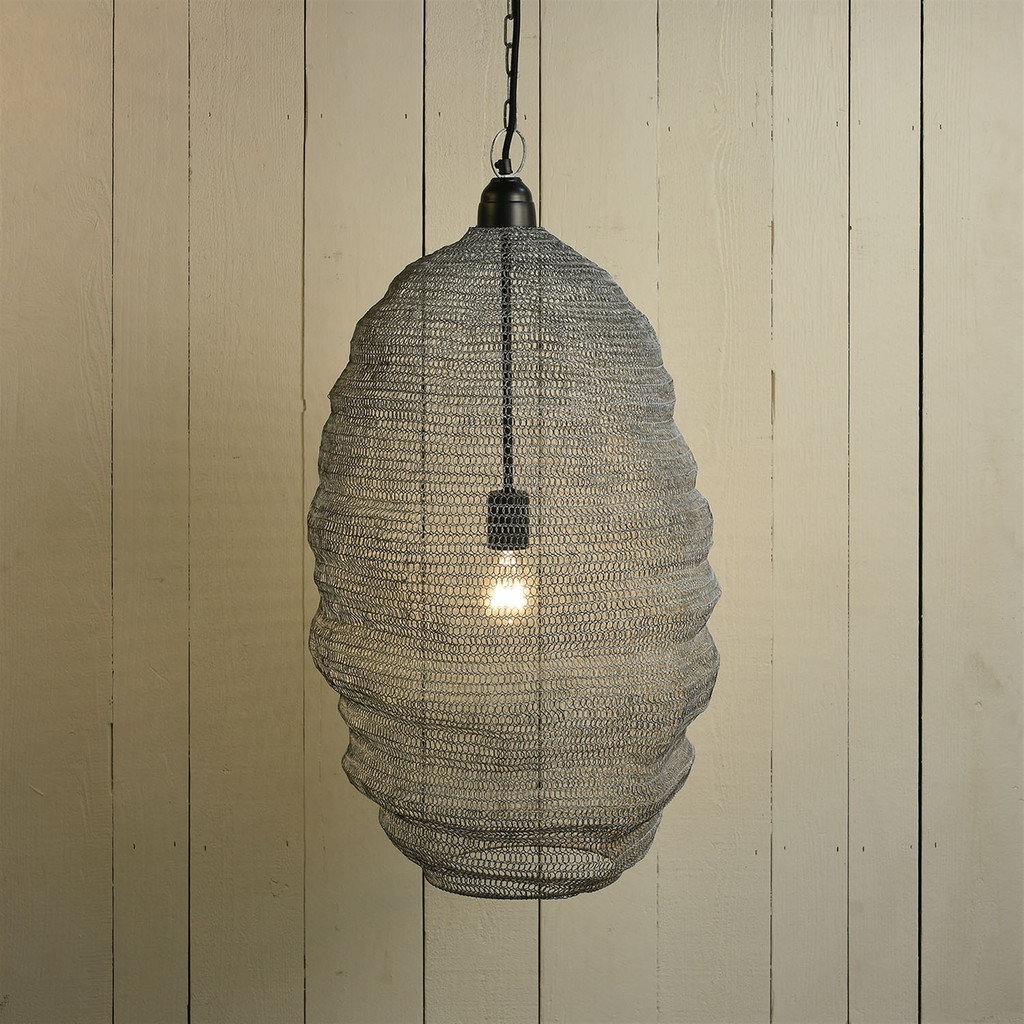 Bristol Looped Wire Large Pendant Lighting room view