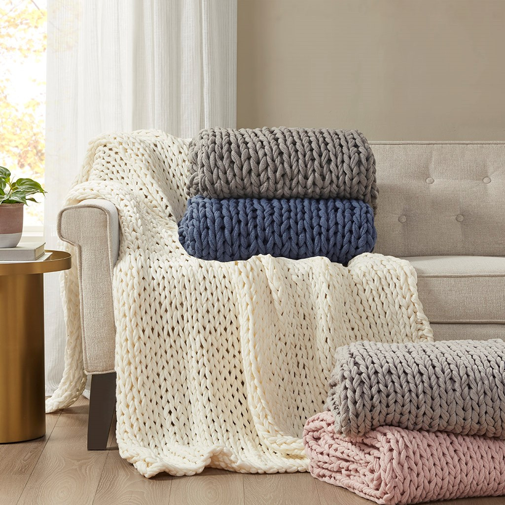 Chunky Handmade Double Knit Throws