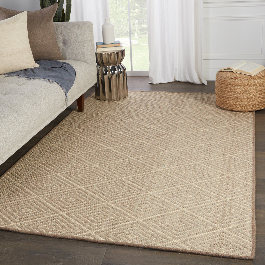 Pacific dunes Newport Wool and Sisal Area Rug room view