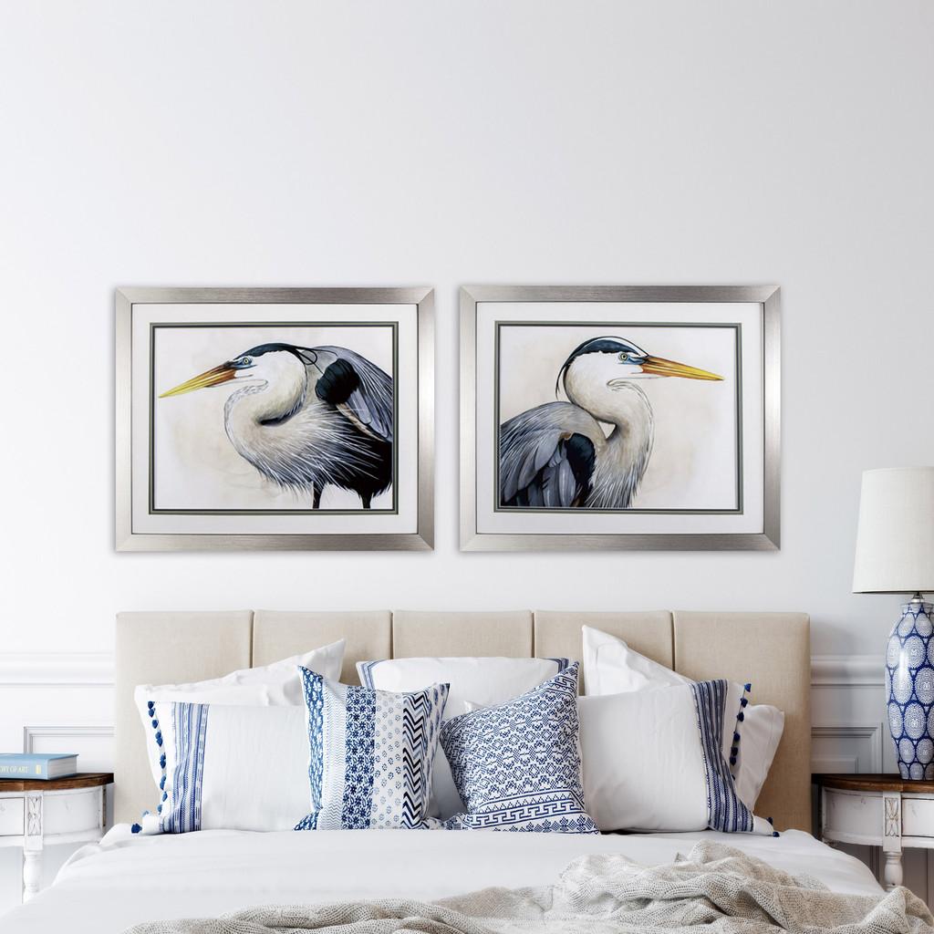 Blue Heron Sea Hunters - Set of Two room example
