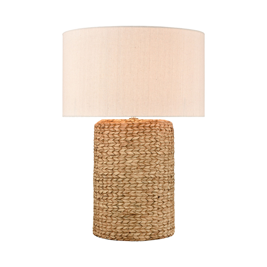 Wharf Table Lamp in Natural Finish