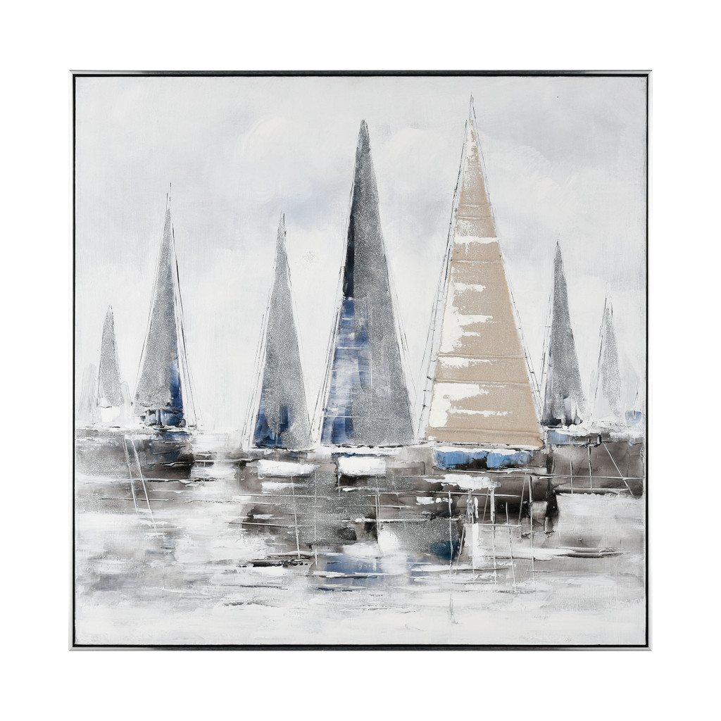 Weekend on the Lake Framed Wall Art