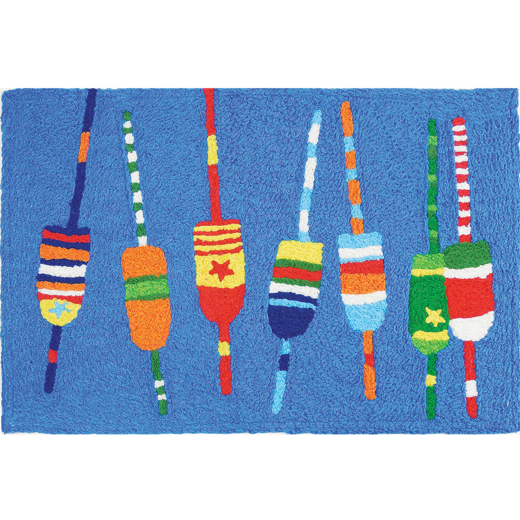 Bright Buoys Accent Rug