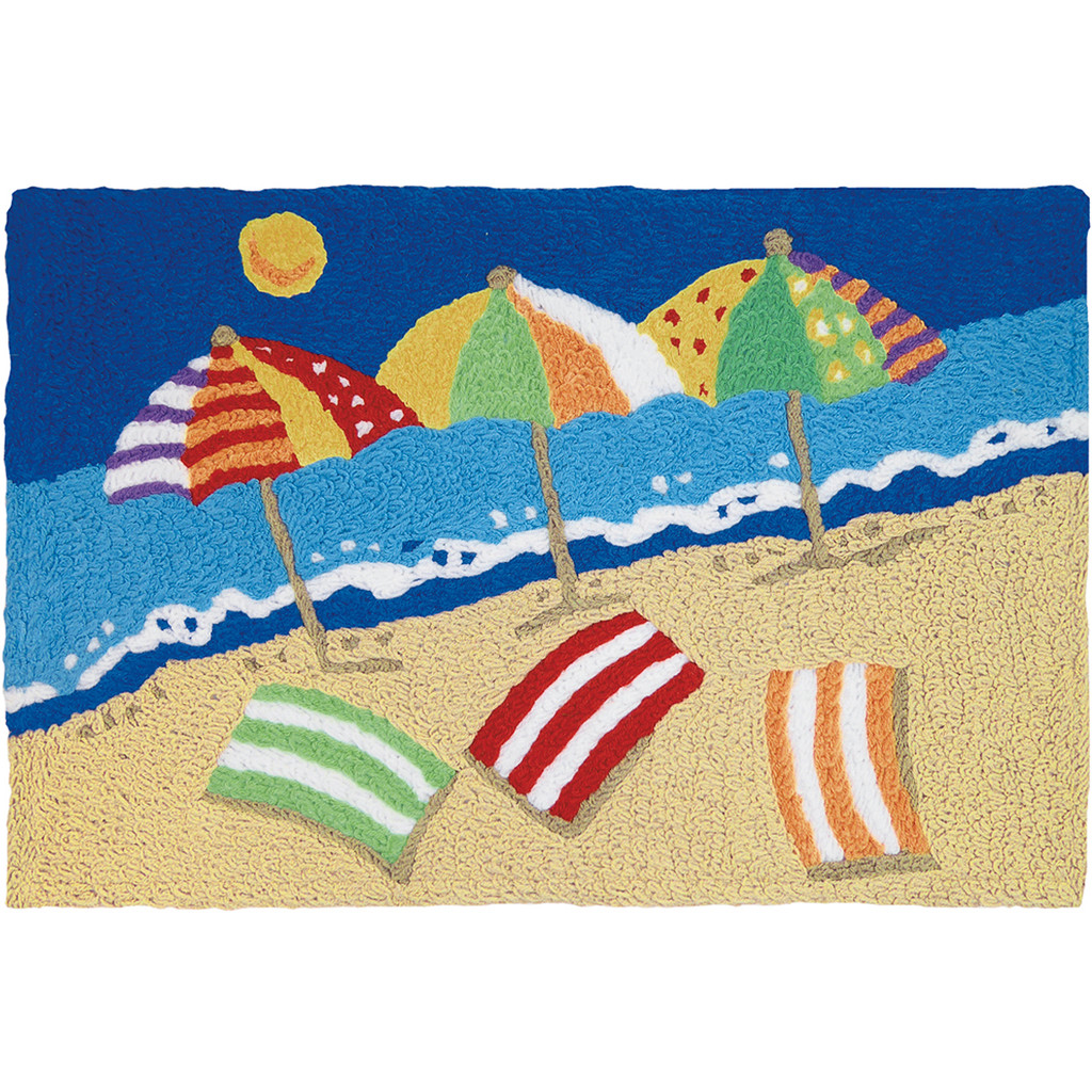 Beachy Keen Fun Accent Rug