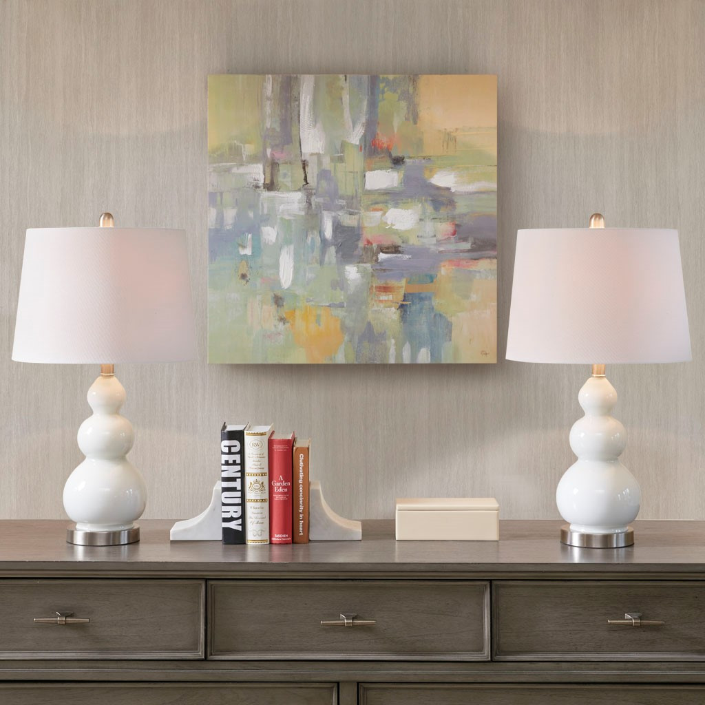 Secret Cove Table Lamps - Set of Two buffet table look