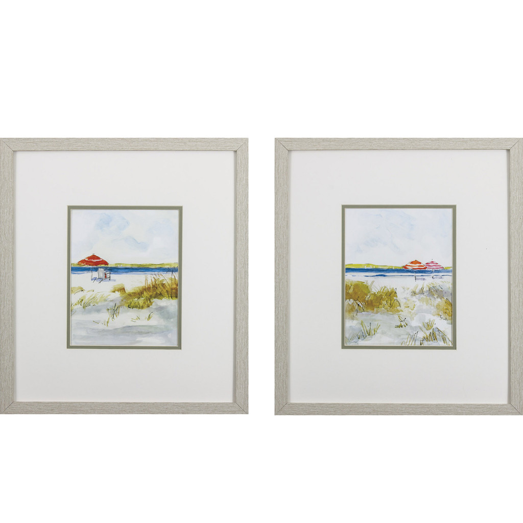 Summer Beach Prints - Set of Two