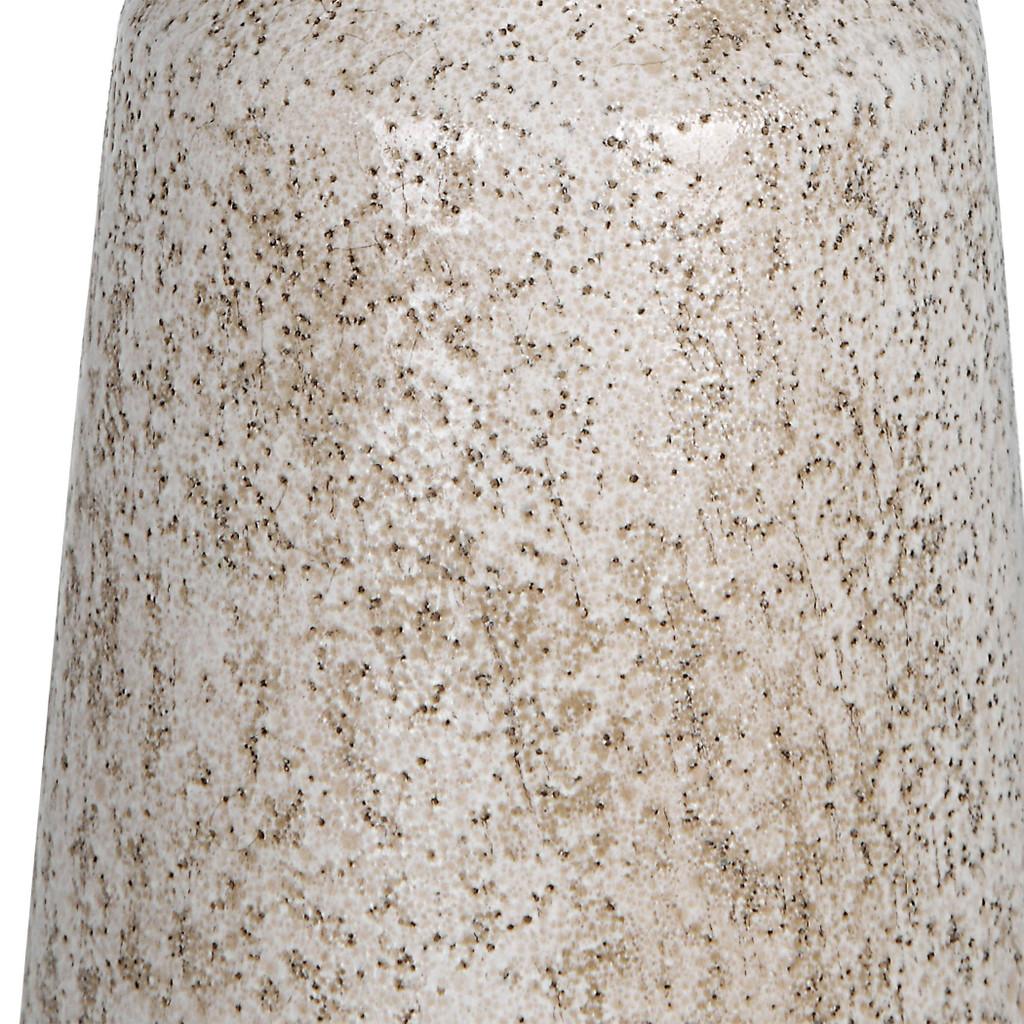 Sandy Shores Ceramic Candleholders- Set of Three close up